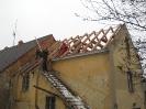 Výměna střechy místní hasičské zbrojnice